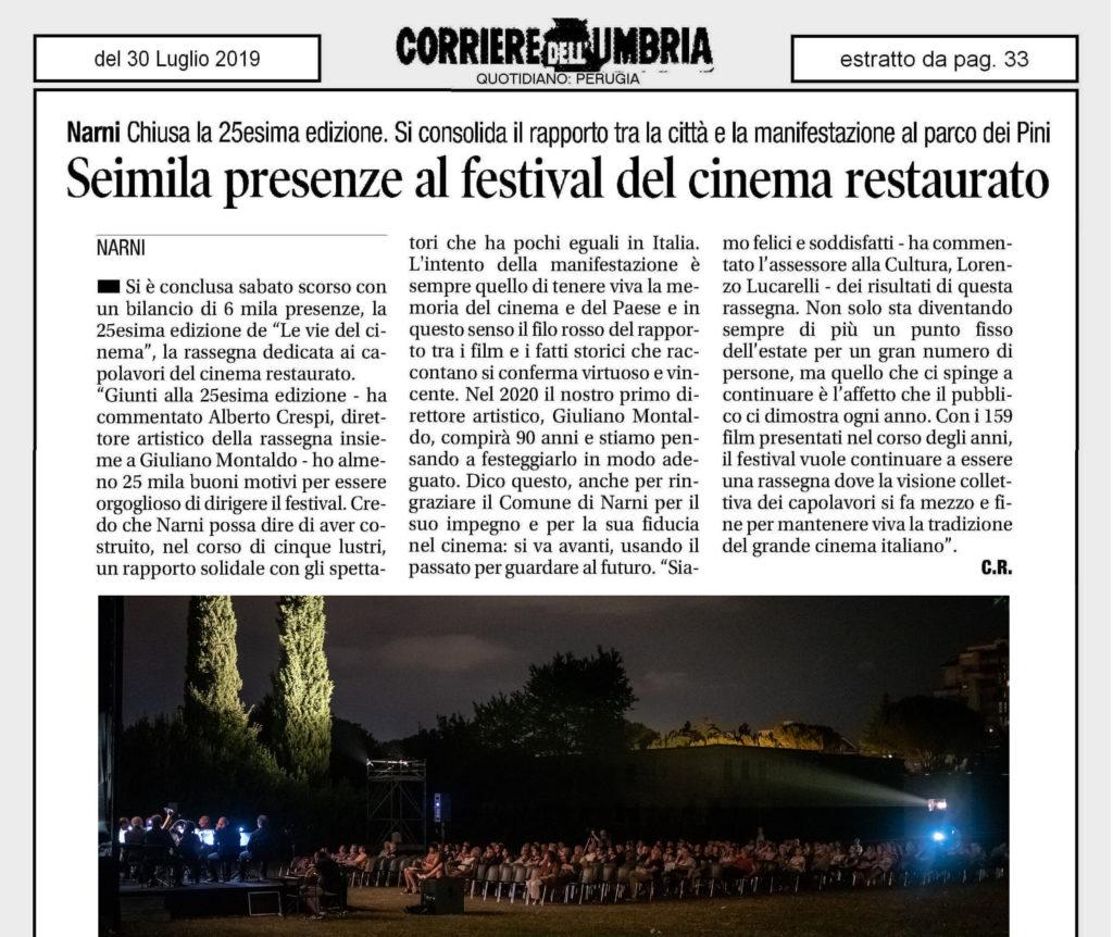 SEIMILA PRESENZE AL FESTIVAL DEL CINEMA RESTAURATO