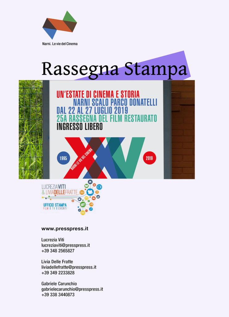 Microsoft Word - cartella stampa LE VIE DEL CINEMA 2019 DEF ok.d
