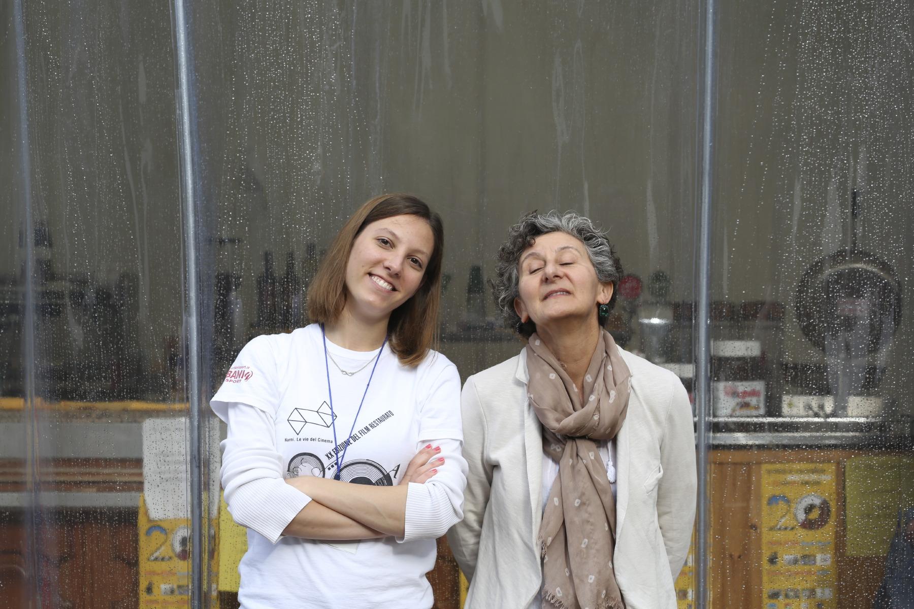 Alice Bacci e Mirella Pioli