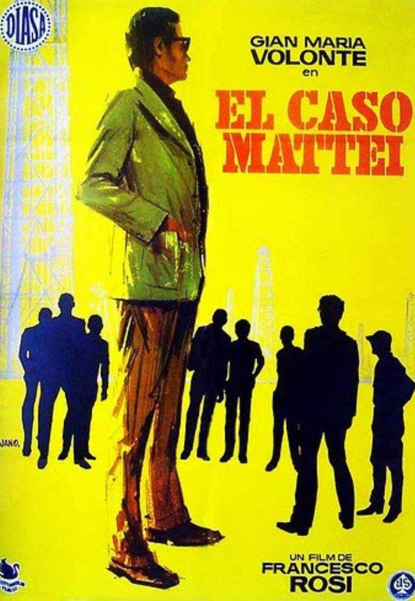 Il caso Mattei. F.Rosi 1972