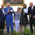 La premiazione di Giuliano Montaldo